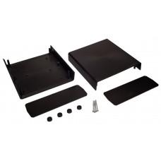 Z1 (Kradex) Корпусас боковыми панелями пластиковый приборный 70*188*197 мм, черный