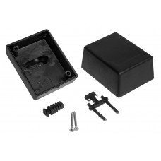 Z10 (Kradex) Корпусблока питания с вилкой 52*58*72 мм, черный