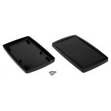 Z113 abs (Kradex) Корпусспециальный с местом под дисплей 25,5*93,1*151мм черный