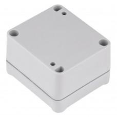 Z117sj (Kradex) Корпус герметичный с литым уплотнителем под пломбировку 36,7*57,1*63,2мм светло-серый