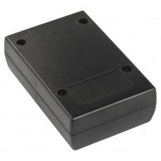Z119 abs (Kradex) Корпусаспециальные с местом под дисплей 30*63*97мм черный