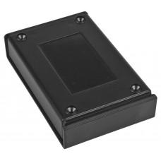 Z122abs (Kradex) Корпусадля управляющих устройств 24,5*69,2*108,1мм, черный