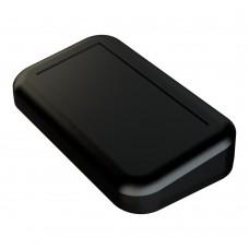 Z127 abs  (Kradex) Корпус специальный под пломбировку с наклонной панелью из двух частей 41,7*100*108 мм черный