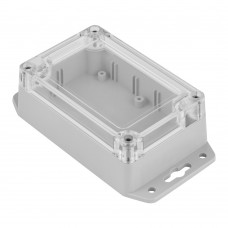 Z128 abs (Kradex) Корпусаиз двух частей для монтажа на стену 40*70*105 мм, светло-серый