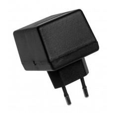 Z13 (Kradex) Корпусблока питания с вилкой 37*47*65 мм, черный