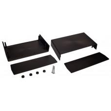 Z15 (Kradex) Корпусас боковыми панелями пластиковый приборный 90*148*250 мм, черный
