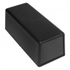 Z18 (Kradex) Корпусас боковыми панелями пластиковый приборный 65*76*176 мм, черный