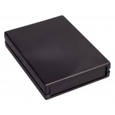 Z19 (Kradex) Корпусас боковыми панелями пластиковый приборный 25*94*128 мм, черный