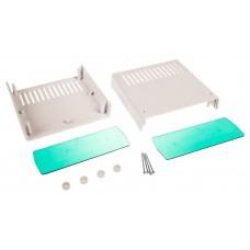 Z1A (Kradex) Корпусас боковыми панелями пластиковый приборный 68*172*176 мм, черный