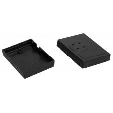 Z22 (Kradex) Корпусаиз двух частей 22*49*65 мм, черный