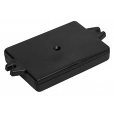 Z23A (Kradex) Корпусаиз двух частей 22*59*84 мм, черный