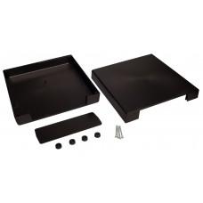 Z26 (Kradex) Корпусас боковыми панелями пластиковый приборный 60*220*220 мм, черный