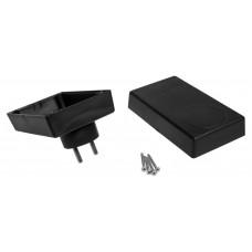 Z30 (Kradex) Корпусблока питания с вилкой 46*70*120 мм, черный