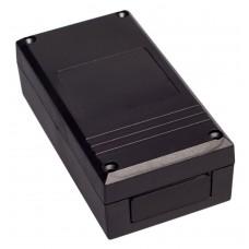 Z36 (Kradex) Корпусас боковыми панелями пластиковый приборный 42*66*125 мм, черный