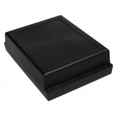 Z46 ps (Kradex) Корпуса из двух частей для монтажа на стену 53*145*198 мм, черный