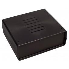 Z4A (Kradex) Корпусас боковыми панелями пластиковый приборный 59*139*159 мм, черный