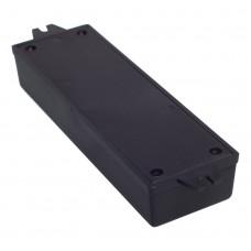 Z51 (Kradex) Корпуса из двух частей для монтажа на стену 27*49*155 мм, черный