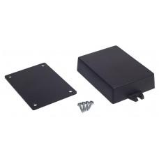 Z53 (Kradex) Корпуса из двух частей для монтажа на стену 22*65*90 мм, черный