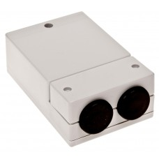 Z61j Корпусспециальный с резиновым вводом 43*80*120мм, светло-серый