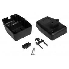 Z64 (Kradex) Корпусблока питания с вилкой 57*65*89 мм, черный
