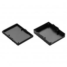 Z129 abs (Kradex) Корпусаиз двух частей 28,5*94,1*117,6 мм, черный