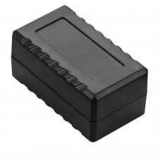 Z130 abs (Kradex) Корпусаиз двух частей 27,2*37,5*56,5 мм, светло-серый